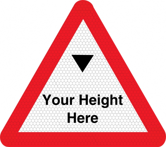 Maximum Height Sign 530 Ssp Print Factory