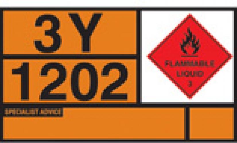 Diesel Gas Oil Hazchem Warning Plates Ssp Print Factory