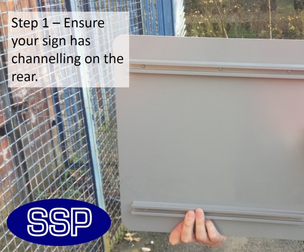 Gate Fence And Railing Sign Fixing Kit Ssp Print Factory