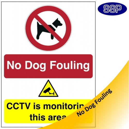 Dog Fouling Signs Free