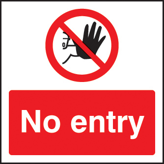 No Entry Sign Ssp Print Factory