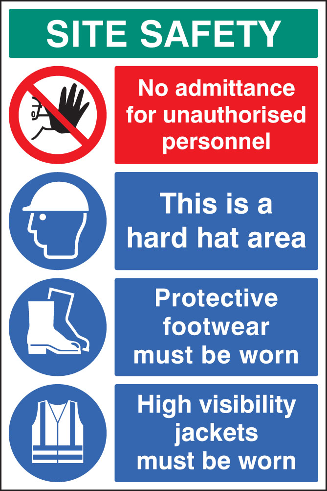 Site Safety Board 58035 Ssp Print Factory