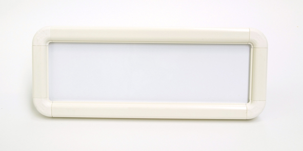 White Suspended Frame with Hooks & Fixing Pads | SSP Print Factory
