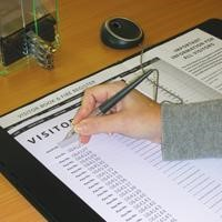 Visitor book standard sign in