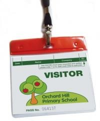 Visitor pass accessories