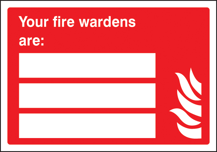 Fire Wardens Update Yourself Sign Ssp Print Factory