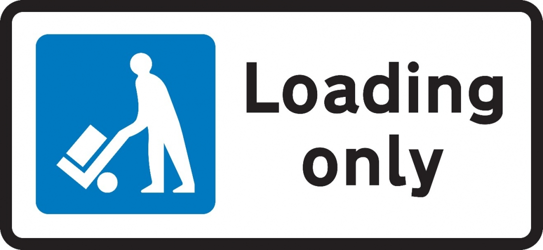 Loading Only Sign 660.4