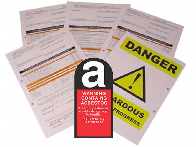 Asbestos Permit To Work Self Duplicating Forms