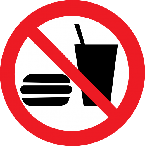 No Food & Drink