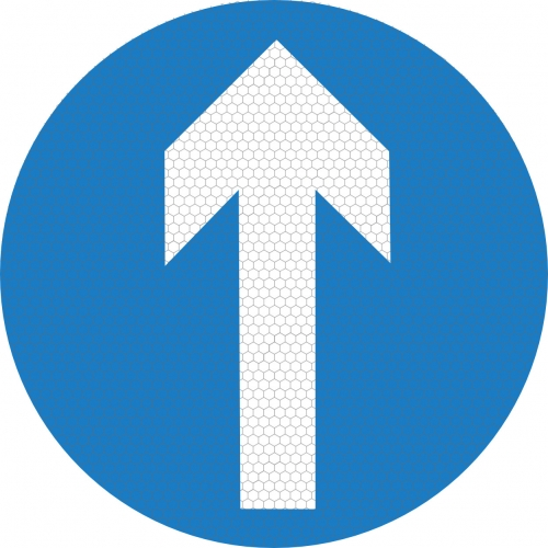 Ahead Only Sign 606 Ssp Print Factory