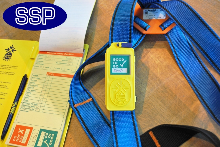 Harness Safety Inspection Checkbooks 25 Inspections