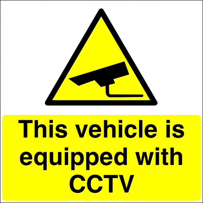 CCTV In This Vehicle