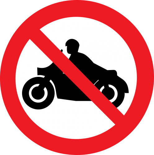 No Motorcycles