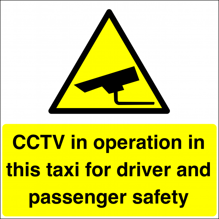CCTV In This Taxi