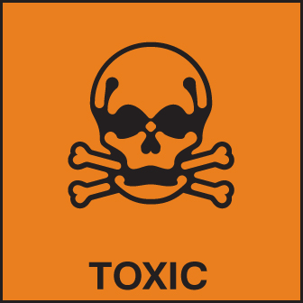 Hazard Label Toxic