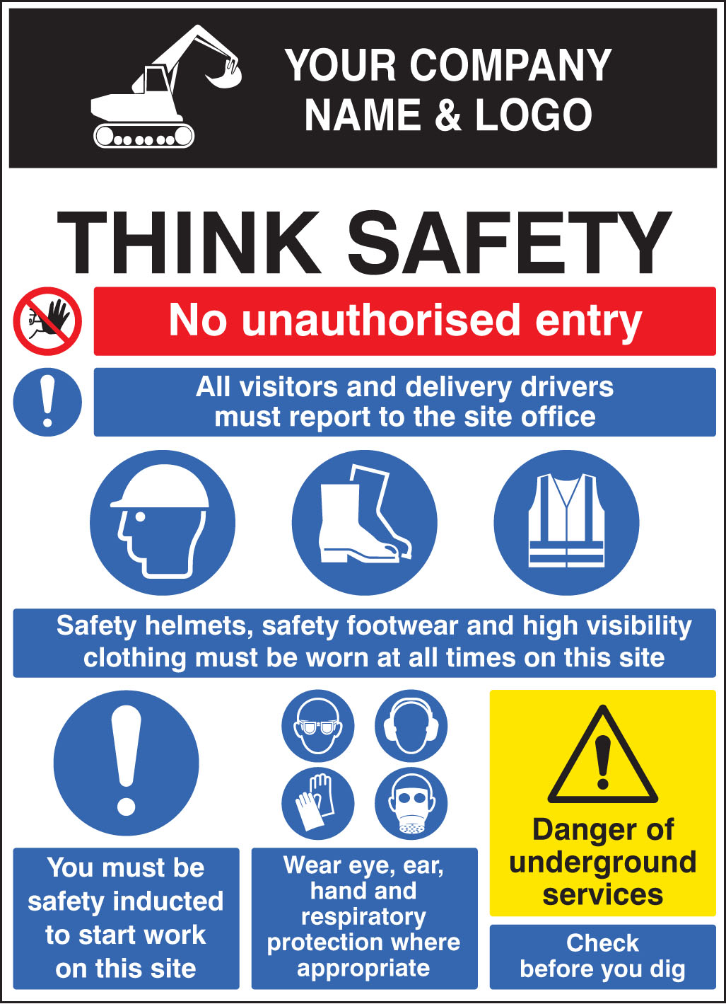 Site Safety Board 58025 Ssp Print Factory
