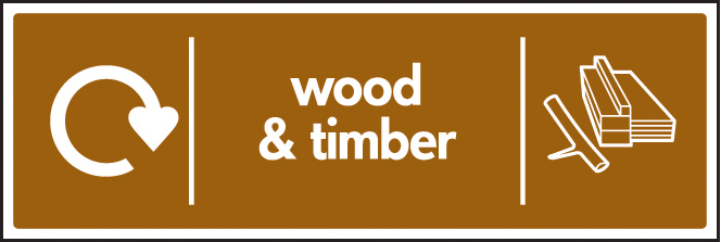 Wood Amp Timber Recycling Signs Ssp Print Factory