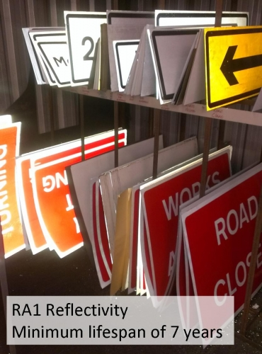 Two Way Traffic Straight Ahead Sign 521 Ssp Print Factory
