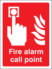 Fire alarm call point Sign (1011)
