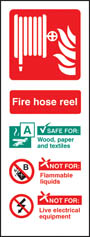 Fire Hose Reel Identification Sign