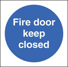 Fire door keep closed Sign (1616)