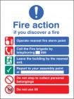 New EEC Fire Action Sign (Manual Call Point)