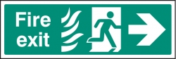 HTM Hospital Fire Exit Signs