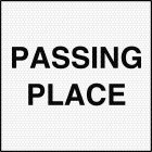Passing Place Signs