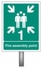 Assembly Point Zone Signs