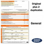 General Permit To Work Self Duplicating Forms