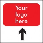 Directional/Branded Correx Sign (Up)