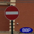 No Entry Sign 616