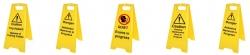 Yellow Freestanding Signs
