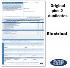 Electrical Permit To Work Self Duplicating Forms