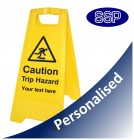 Personalised Trip Hazard Sign