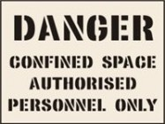 Confined Space Authorised Personnel Only