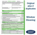 Window Cleaning Permit To Work Self Duplicating Forms