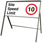 Site Speed Limit Road Sign