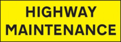 Highway Maintenance Signs