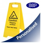 Personalised Slippery Surface Sign