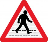 Pedestrian Crossing Sign 544
