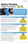 Battery Charging Safety Procedure Poster
