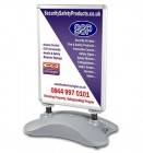 Personalised Ultimate Large Windmaster Spring-Loaded Pavement Sign
