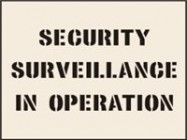 Security Surveillance In Operation Stencil