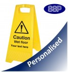 Personalised Wet Floor Free Standing sign