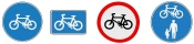 Bicycle Lane Signs