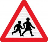 Children Crossing Sign 545