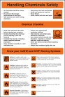 Chemical Handling Safety Poster