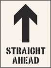 Straight Ahead Stencil