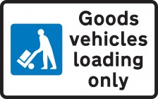 Goods Vehicles Loading Only 660.4G